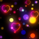 Heart Flickering Background - VideoHive Item for Sale