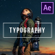 Typography | After Effects - VideoHive Item for Sale