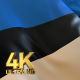 Estonia Flag - 4K - VideoHive Item for Sale