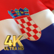 Croatia Flag - 4K - VideoHive Item for Sale