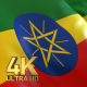 Ethiopia Flag - 4K - VideoHive Item for Sale