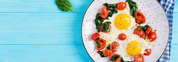 Plate with a keto diet food. - Stock Photo - Images