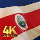 Costa Rica Flag - 4K - VideoHive Item for Sale