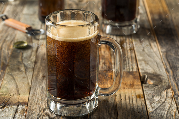 Homemade Birch Beer Drink - Stock Photo - Images