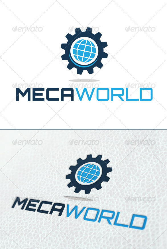 Meca World - Symbols Logo Templates