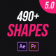Shape and Motion Animated Elements Pack - VideoHive Item for Sale
