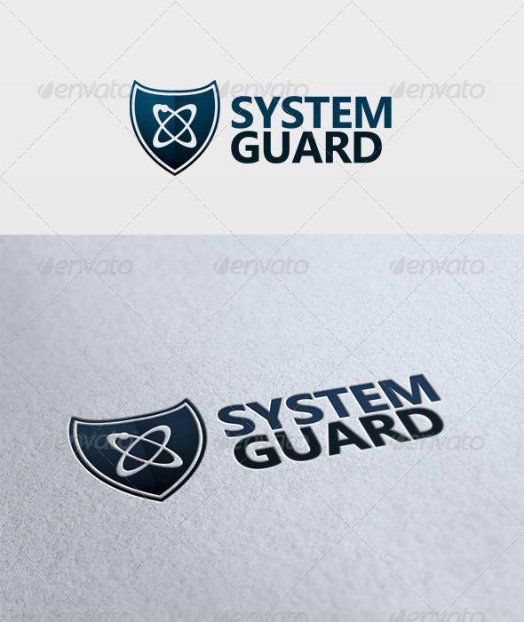 System Guard Logo - Symbols Logo Templates