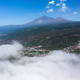 Teide National Park and village, landscape above the clouds. Tenerife, Canary Islands, Spain - PhotoDune Item for Sale