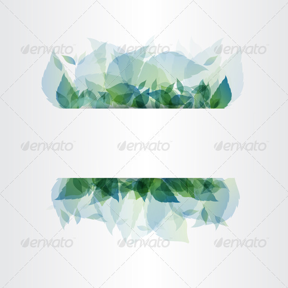 Abstract Leaf Background - Backgrounds Decorative