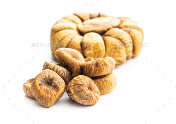 Sweet dried figs - Stock Photo - Images