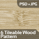 6 Tileable Wood Pattern + 3 Bonus - GraphicRiver Item for Sale