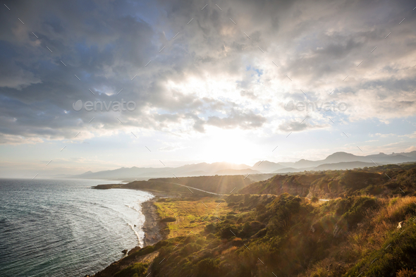 Northern Cyprus landscape - Stock Photo - Images