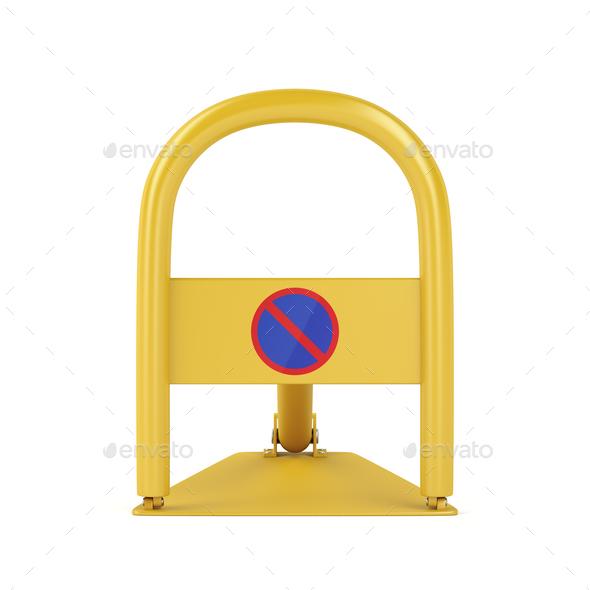 Car parking lock - Stock Photo - Images