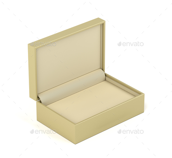 Box for jewelry or gifts - Stock Photo - Images