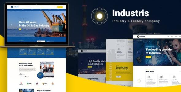 Industris   Factory & Industrial HTML5 Template