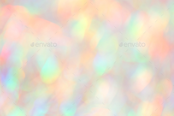 Blurred Holographic Background in Neon Colors. - Stock Photo - Images