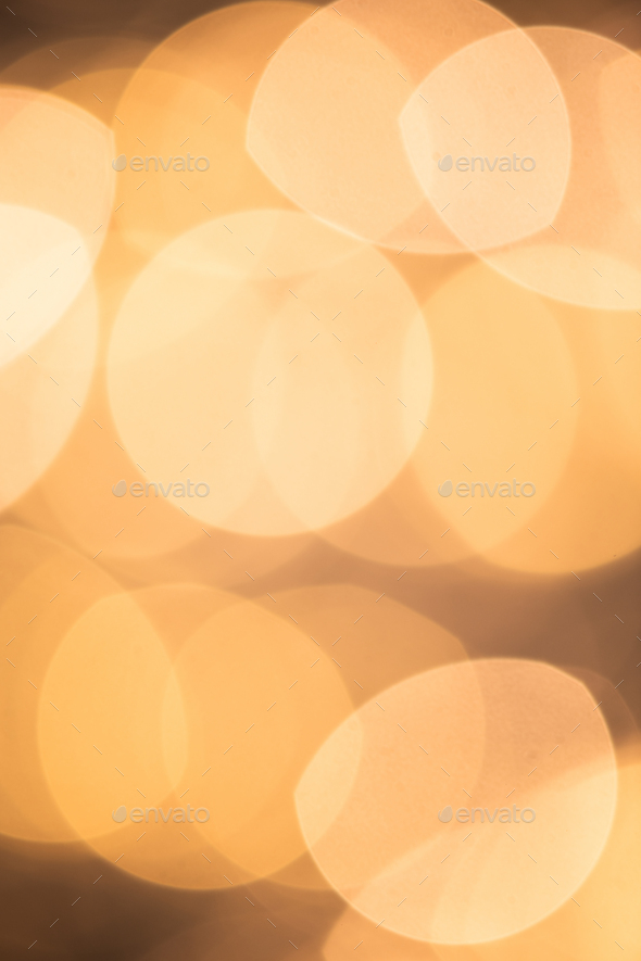 Abstract sparkling lights of round shape that is part of Christmas background - Stock Photo - Images