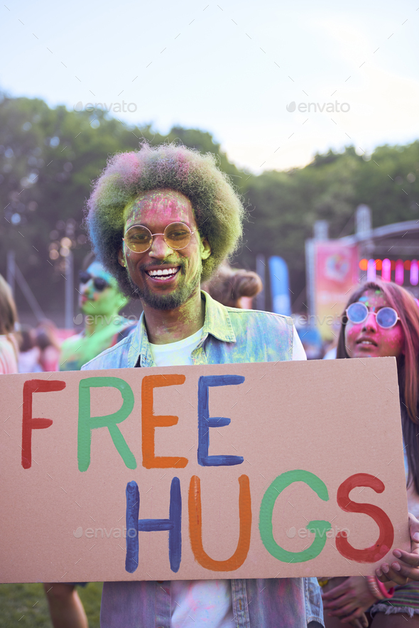 African man on the party - Stock Photo - Images
