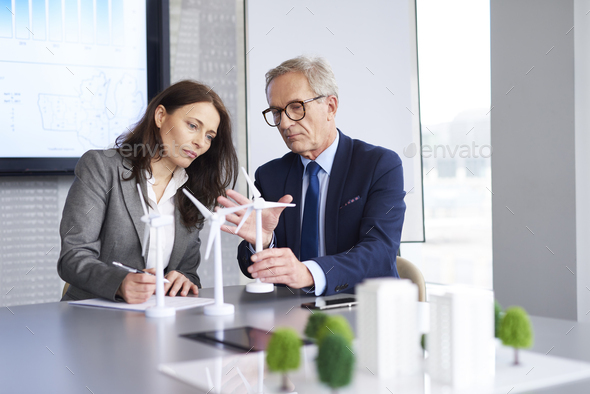 Confident male leader convincing about his opinion - Stock Photo - Images