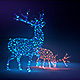 Led Christmas figures opener - VideoHive Item for Sale