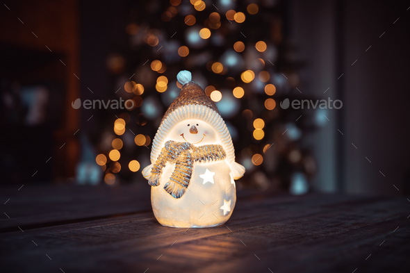 Beautiful Christmas decor - Stock Photo - Images