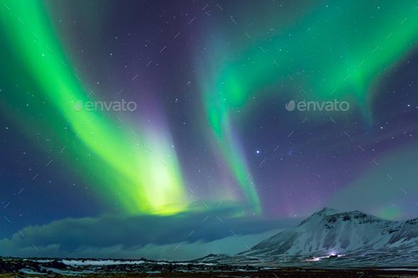 Aurora Borealis - Stock Photo - Images