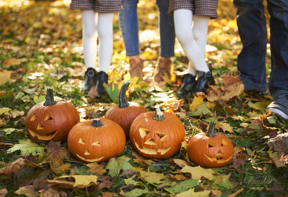 October is the time of Halloween - Stock Photo - Images