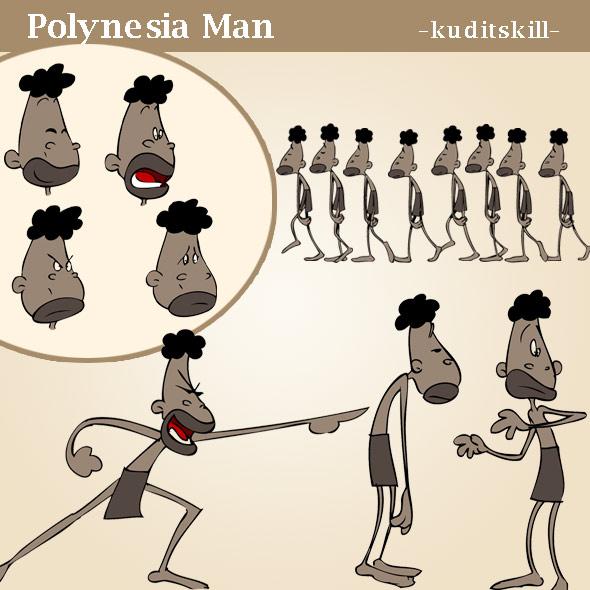 Polynesia Man