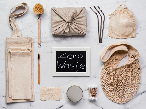 Zero waste concept, copy space - Stock Photo - Images
