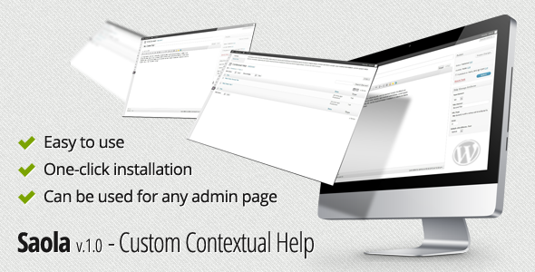 Saola- Custom Contextual Help for every admin page - CodeCanyon Item for Sale