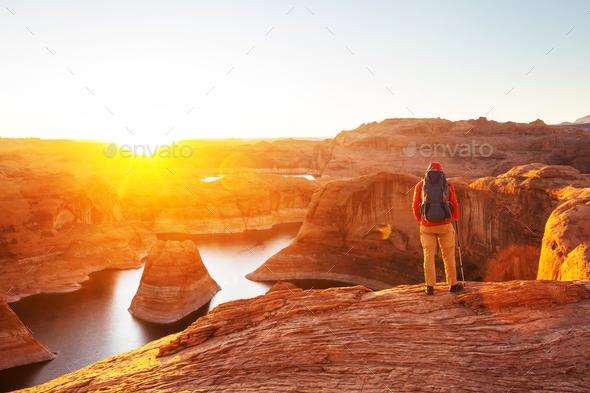 Reflection canyon - Stock Photo - Images