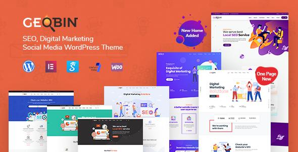 Geobin Digital Marketing Agency Seo Wordpress Theme By Tripples