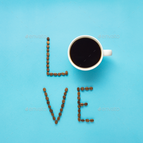 Coffee love. - Stock Photo - Images