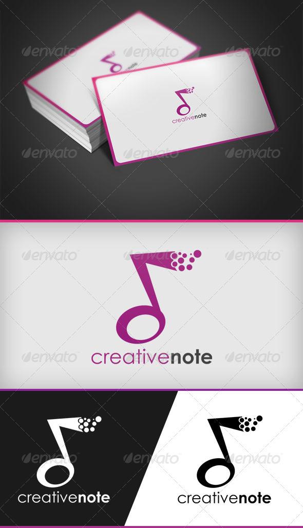 Creative Note - Symbols Logo Templates
