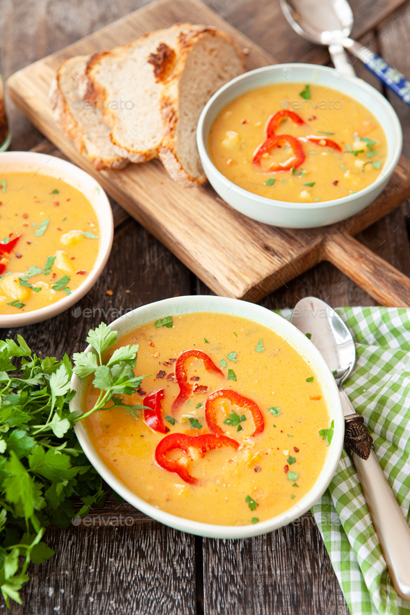 Delicious vegetable stew - Stock Photo - Images