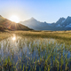 Mont Blanc massif in the French Alps - PhotoDune Item for Sale