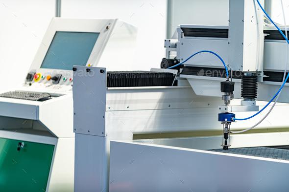 CNC Machine - Stock Photo - Images