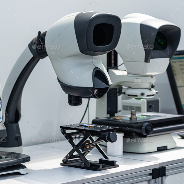 Stereo Microscope - Stock Photo - Images