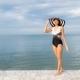 Portrait beautiful young asian women relax smile happy around sea beach ocean - PhotoDune Item for Sale