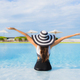 Portrait beautiful young asian women happy smile relax around swimming pool - PhotoDune Item for Sale