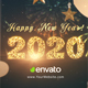 Happy New Year 2020 Paper Greetings - VideoHive Item for Sale