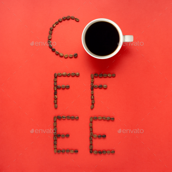 Coffee sign. - Stock Photo - Images