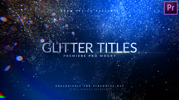 Awards Glitter Titles – Premiere Pro | Mogrt