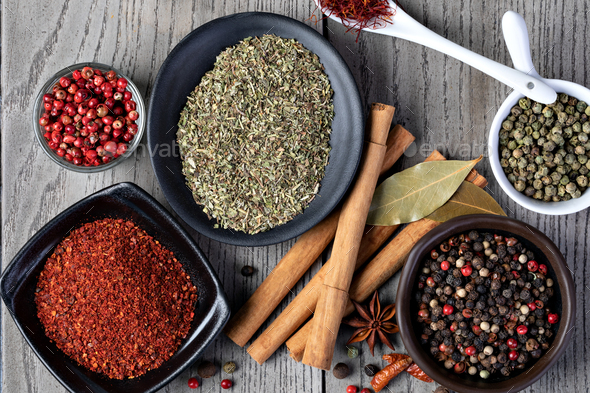 spices set - Stock Photo - Images