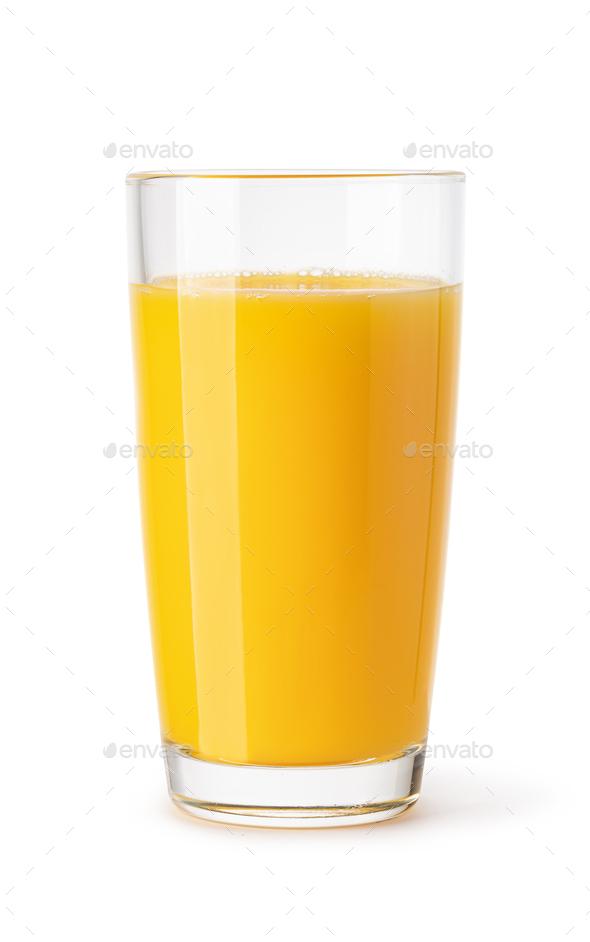 glass of mango juice - Stock Photo - Images