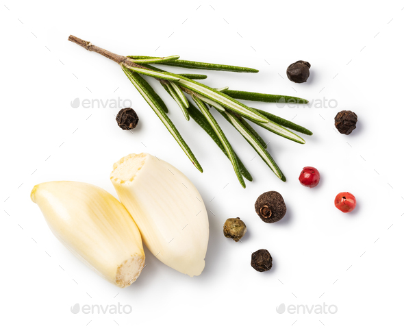 Fresh spices and herbs - Stock Photo - Images