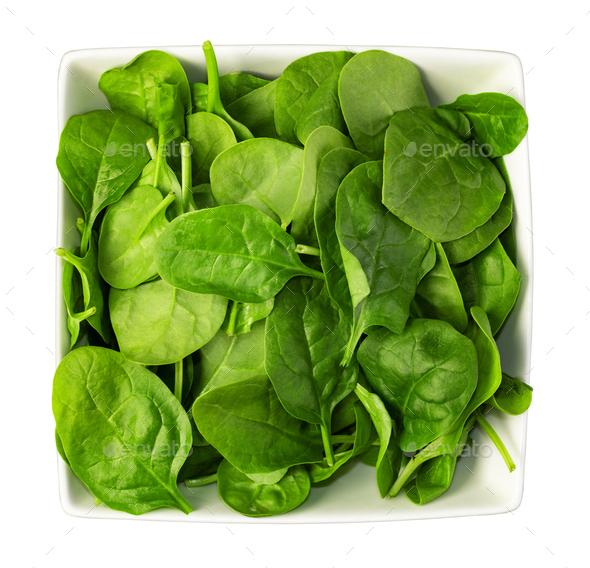 Spinach leaves - Stock Photo - Images
