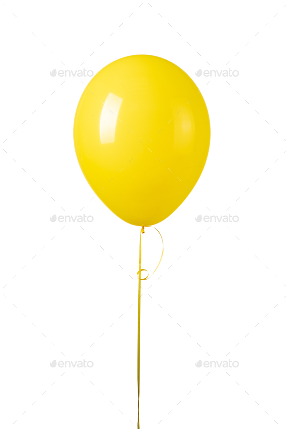 Air Balloons on white - Stock Photo - Images