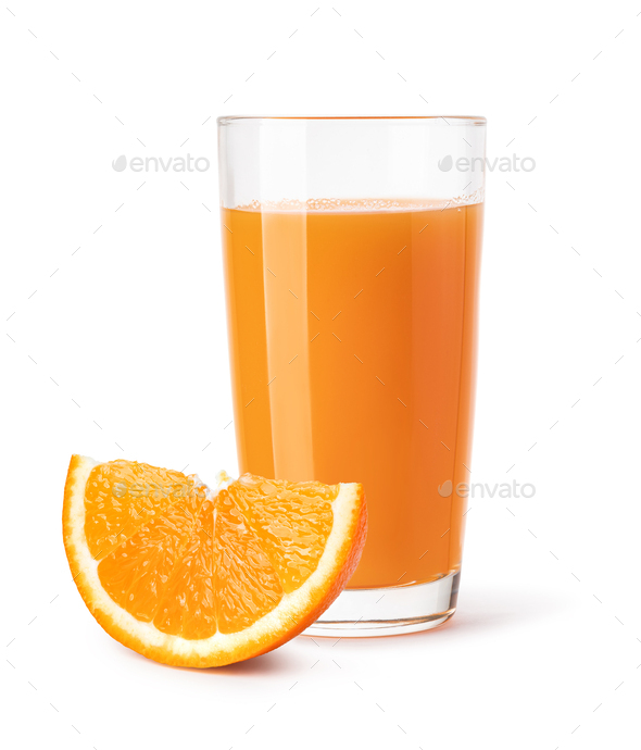 glass of orange juice - Stock Photo - Images
