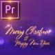 Christmas Sparkles Invitation - Premiere PRO - VideoHive Item for Sale